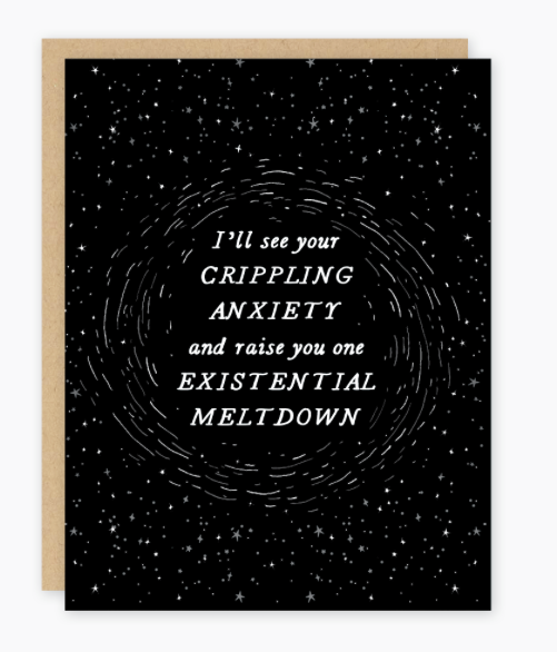 Existential Meltdown Card by Party of One