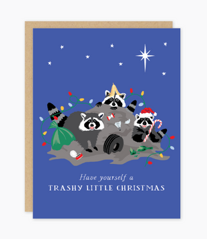 Trashy Christmas Card by Party of One