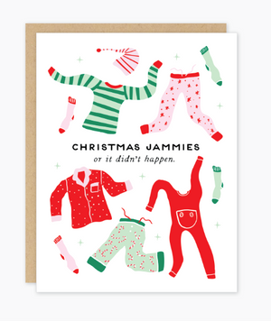 Jammies Holiday Card by Party of One