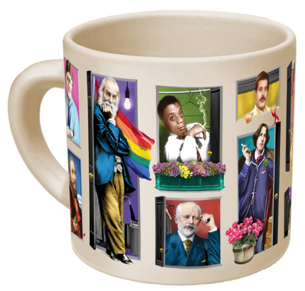 Great Gays Mug by Unemployed Philosophers Guild