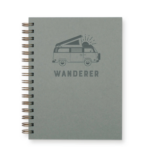 Wanderer Journal : Lined Notebook by Ruff House Print Shop