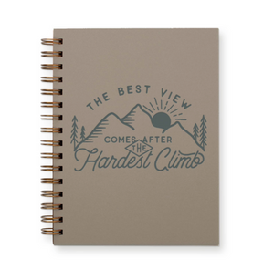 Best View Journal : Lined Notebook by Ruff House Print Shop