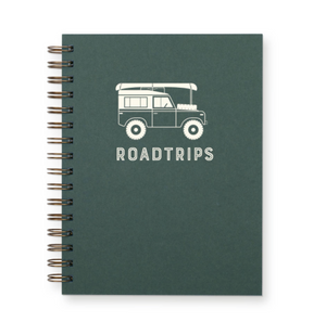 Roadtrips Journal : Lined Notebook by Ruff House Print Shop