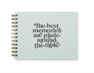 Memories Around the Table Meal Planner by Ruff House Print Shop