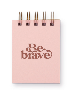 Be Brave Mini Jotter Notebook by Ruff House Print Shop