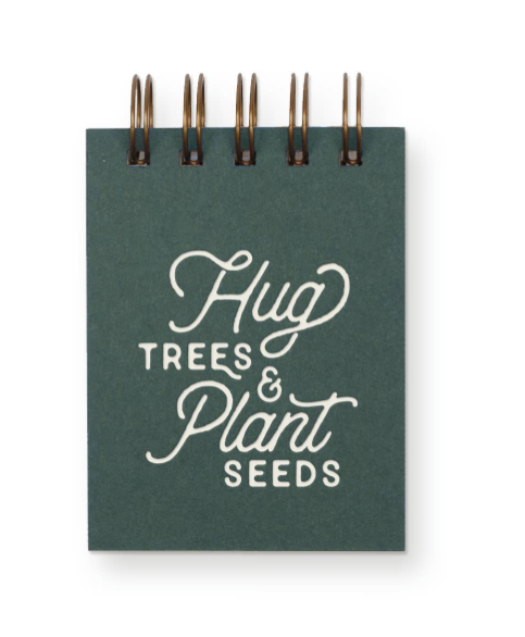 Hug Trees Mini Jotter Notebook by Ruff House Print Shop