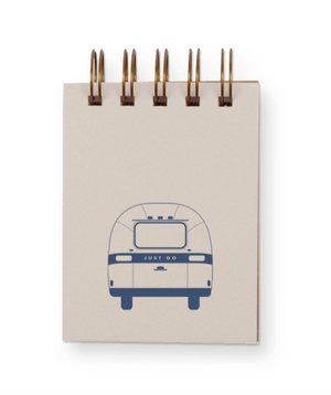 Airstream Travel Mini Jotter Notebook by Ruff House Print Shop
