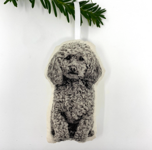 Poodle Ornament by Broder Press