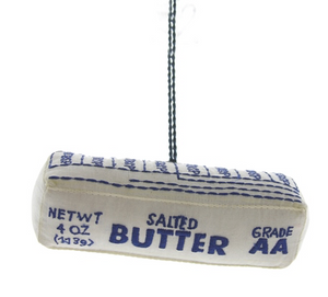 Hand Stitched Butter Ornament