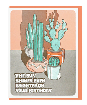 The Sun Shines Even Brighter On Your Birthday by Lucky Horse Press
