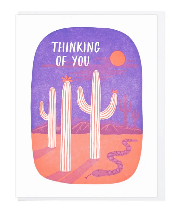Thinking Of You Desert by Lucky Horse Press