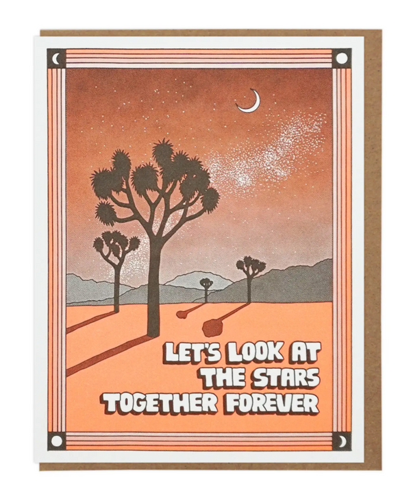 Let's Look At The Stars Together Forever by Lucky Horse Press