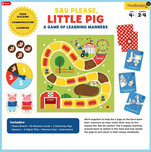 Say Please, Little Pig Board Game
