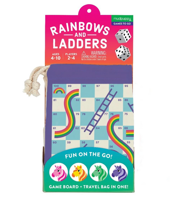 Rainbows & Ladders Travel Game