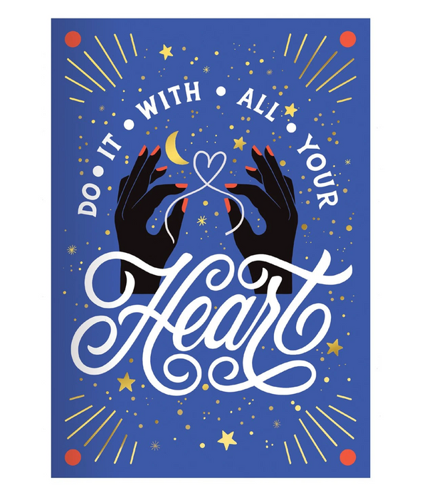 Do It With All Your Heart Undated Planner