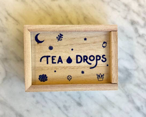 Tea - Mini Wood Box Chai (Cardamom) Spice & Sweet Peppermint