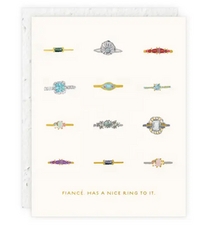 Fiancé Card Card by Seedlings