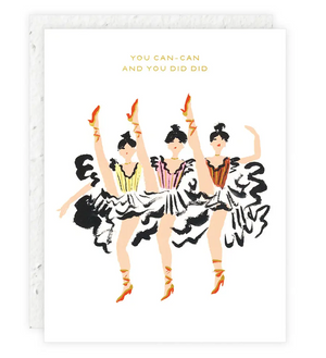 Can Can Card by Seedlings