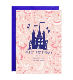 Which Way to the Castle Birthday Card by Mr. Boddington's Studio