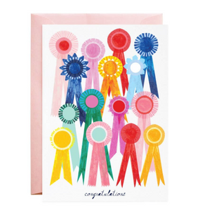 First Place Ribbon Card by Mr. Boddington's Studio