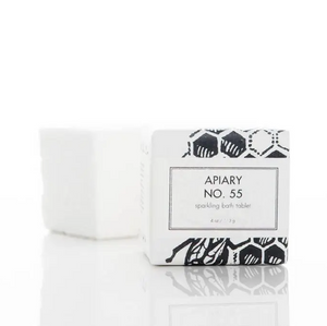 SPARKLING BATH TABLET - APIARY NO. 55