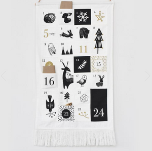 Festive Friends Advent Calendar by Wee Gallery