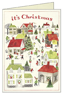 Christmas Village Boxed Note Cards