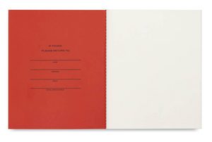 Classic Journal - Red/Pink by Wit & Delight