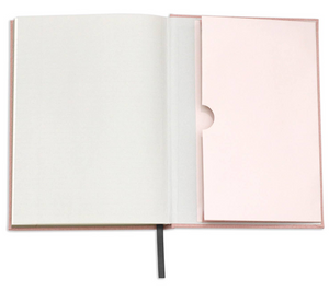 Pink Linen Note to Self Journal by Wit & Delight