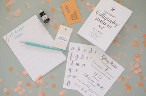 Calligraphy Starter Kit by Antiquaria