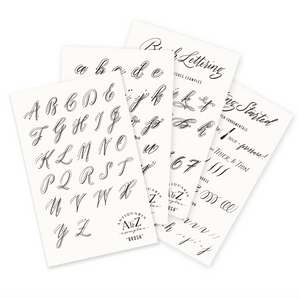 Brush Calligraphy Exemplar Kit by Antiquaria