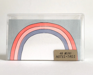Rainbow Mini Notes / 48 pack by Hartland Brooklyn