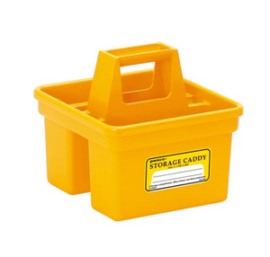 YELLOW STORAGE CADDY by PENCO