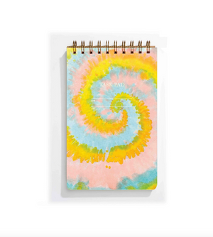 Tie Dye Task Pad by Iron Curtain Press