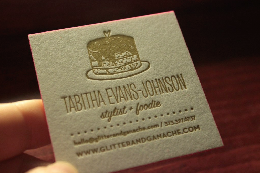 print your own damn business cards
