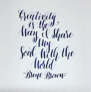 Modern Calligraphy for Beginners - August Workshop