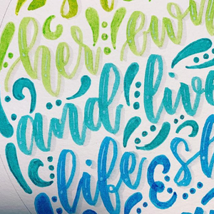 Brush Lettering for Beginners - April 2020 Workshop