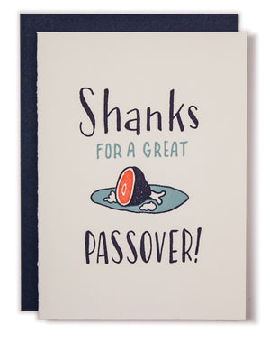 Shanks for a Great Passover