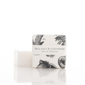 SHEA BUTTER SOAP - SEA SALT & LAVENDER