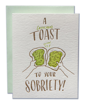 A (avocado) Toast To Your Sobriety!