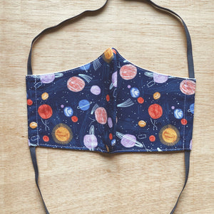 Teen / Tween / Tiny Cotton Mask Galaxy by So Gingerly