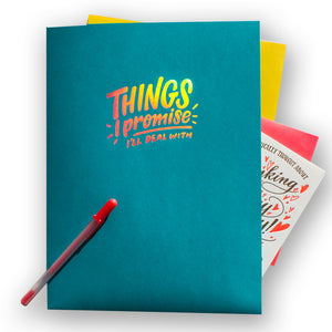 "Pocket Folder: ""Things I Promise I'll Deal With"""