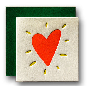 Tiny Card - Heart