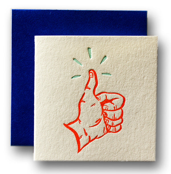 Tiny Card - Thumbs Up