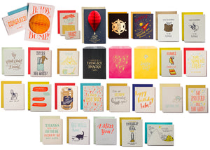 Contents of Whoa Awesome Size Card Lovers' Gift Box