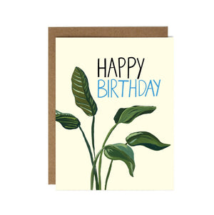 Birthday Leaves Card by Drawn Goods