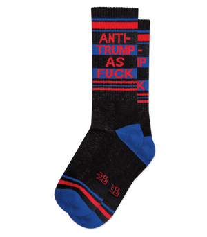 ANTI-TRUMP AS FUCK SOCKS