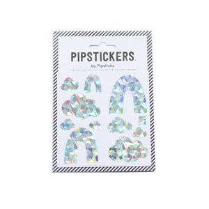 Silver Holographic Rainbows & Clouds by Pipsticks