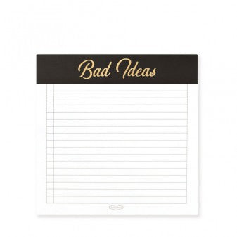 Bad Ideas Note Pad