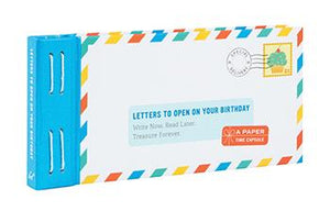 Letters to Open on Your Birthday Book